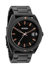 Nixon ROVER SS II Matte Black/Industrial Green Watch A359 1530 New! A3591530