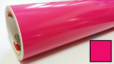 Gloss Pink Vinyl Graphics Decal Sticker Sheet Film Roll Overlay 24""