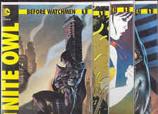 Before Watchmen #1 DC Comic Books X4 Nite Owl MinutemenSilk Spectre The Comedian