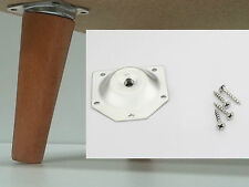 ANGLED LEG FIXING MOUNTING PLATE BRACKET COFFEE TABLE DANSETTE VINTAGE RETRO M8