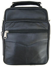 Mens Leather Crossbody Messenger Shoulder Bag Satchel Small Handbag Tablet Kit !