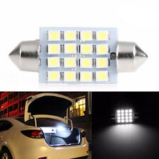 1Pc 39mm 3528 16SMD LED Car Light Roof Dome Festoon Double-Tip License Plate