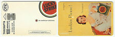 GREECE GREEK PHONECARD – LUCKY STRIKE (GIRL) 10/98 – 39.000 TIRAGE – USED - RARE
