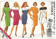 6147 Vintage Butterick Sewing Pattern Misses Dress Top Skirt UNCUT Classic OOP