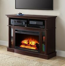 Electric Fireplace TV Stand Heater Media Console Entertainment Center Space Room