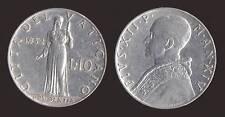 VATICANO 10 LIRE 1952 - PIO XII - PRUDENTIA