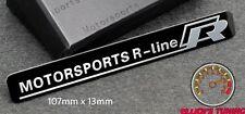 VOLKSWAGEN R LINE MOTORSPORT BADGE EMBLEM VW GOLF 133 GTI VR6 R32 MK 2 3 4 5 TDI