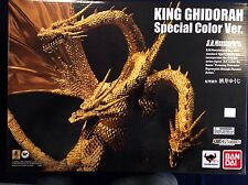 King Ghidorah Colour Version SH Monster Arts Bandai Japan New Godzilla S.H.