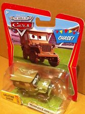 """DISNEY CARS DIECAST - """"Saluting Sarge"""" - Chase! VHTF - Combined Postage"""