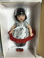"Helen Kish & Co.  7.5"" TAKE NOTE RIKI BABY GIRL DOLL NRFB Retired FREE US SHIP"