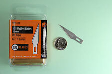 #11 Hobby Craft Blade X-acto Style Techni-edge NO 11 100/pack  Xacto Exacto