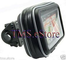 "GPS032 Water Resistant Bike Motorcycle Handlebar Mount Case for nuvi 4.3"" GPS"