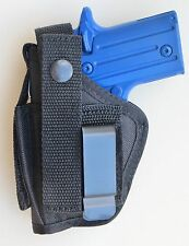 Hip Holster with Extra Magazine Pouch for SIG SAUER P238 clip-on or belt loop