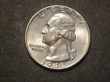 1948 Uncirculated Silver Washington Quarter Ungraded Uncertified Business
