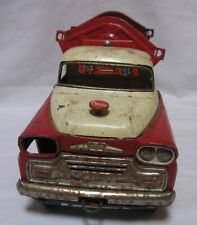 1950's Japan Friction Tin Toy Side Dump Truck Parts Repair