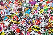 10 +5 free! random vinyl decal graffiti sticker bomb laptop suitcase skateboard