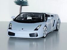 NEW - Lamborghini Gallardo Spyder - 1:18 Diecast Model Car - Light Blue