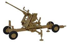 British Military Bofors Desert 40mm Gun model OO Oxford Die-cast 1:76 76BF003