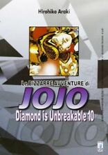 LE BIZZARRE AVVENTURE DI JOJO -DIAMOND IS UNBREAKABLE 10 DI 12 STAR COMICS NUOVO