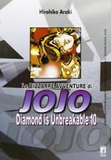 LE BIZZARRE AVVENTURE DI JOJO -DIAMOND IS UNBREAKABLE 10 DI 12 STAR COMICS NUOVO