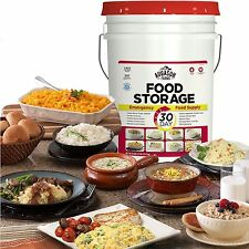 Augason Farms Emergency Survival Food Supply Storage 30 Day Pail – 1 Person