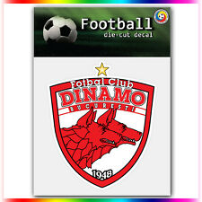 "FC Dinamo Bucuresti UEFA Die Cut Vinyl Sticker Car Bumper Window 4""x3.5"""