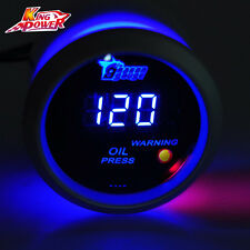 Universal 2 Inch 52mm Digital LED Electronic Oil Press Pressure Gauge Car Motor