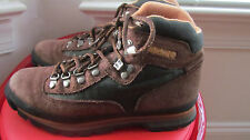 TIMBERLAND MULTI-COLOR LEATHER MEN'S HIKING BOOTS SIZE 9M