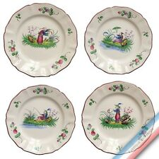 Collection CHINOIS - Assiette dessert - Diam  20,5 cm -  Lot de 4