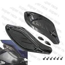 Adjustable Side Wing Deflector Cover F Harley Electra Glide Ultra 1996-2013 Bk4