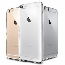 FUNDA CARCASA TRANSPARENTE ULTRAFINA TPU GEL SILICONA PARA iPHONE 6 6S 4,7""