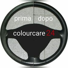 Kit Rinnova Colore Volante Pelle BMW M Line NERO F02 Ritocco Interni Cabrio E46