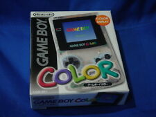 Gameboy Color Transparent Clear Edition Boxed