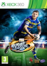 Rugby League Live 3 Xbox 360 Brand New & Sealed