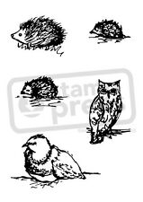 A7 'Woodland Animals' Unmounted Rubber Stamp (SP003199)