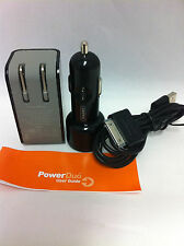Griffin PowerBlock Home & Car Charger Power Adapter w/2x USB Cable iPhone 4S & 4