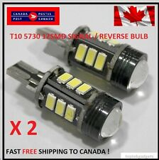 2X T15 12SMD Xenon WHITE SIGNAL/ Reverse 5730 Canbus No Error LED Car Light CREE