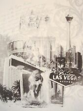 Welcome To Las Vegas Nevada MGM Mirage Hotel Sin City White T Shirt L