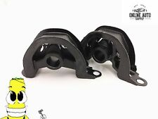 Front and Front Left Lower Motor Mount Kit for Civic 1.5L D15 92-95 Set of 2