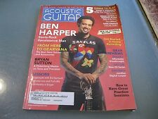 Acoustic Guitar Magazine June 2006  features Ben Harper