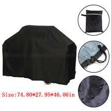 75'' Wide Waterproof BBQ Cover Gas Barbecue Grill Protection Patio Outdoor Large
