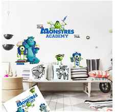 Disney Monsters University Removable Wall Stickers Decal Kids Home Decor USA