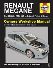Haynes Manual 5955 Renault Megane 1.6 Petrol & 1.5 Diesel Oct 2008 - 2014 NEW