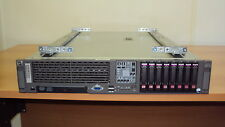 HP DL380 G5, 2 x 2,5 GHZ QC, 16GB, P400 RAID, con KIT rack