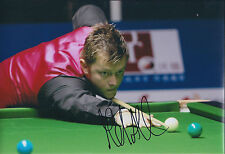Mark ALLEN AUTOGRAPH 12x8 Signed Photo AFTAL COA SNOOKER Authentic RARE