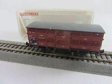 Fleischmann 5364K Güterwagen der DR braun guter Zustand m. Originalverpackung
