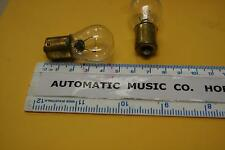 GLOBES LAMPS #87 SEEBURG WURLITZER 6.8V x 5 juke box jukebox bulbs NEW BULBS