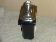 Hall's Porcelain Root Beer Soda Fountain Container & Pump Dispenser VG+