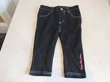 Adorable Calvin klein Baby Girl Toddler Designer Jeans Pink Accents 18-24 Months