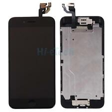 "LCD Display Complete Digitizer + Home Button Camera for iPhone 6 4.7"" Black A+++"